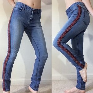 Free People Jeans - Free People Tribal Textured Ribbon